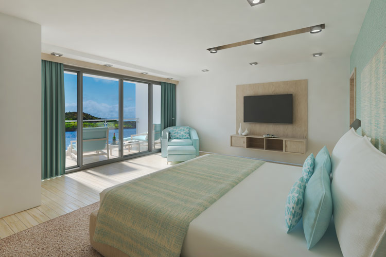 Aqua Twin Suite
