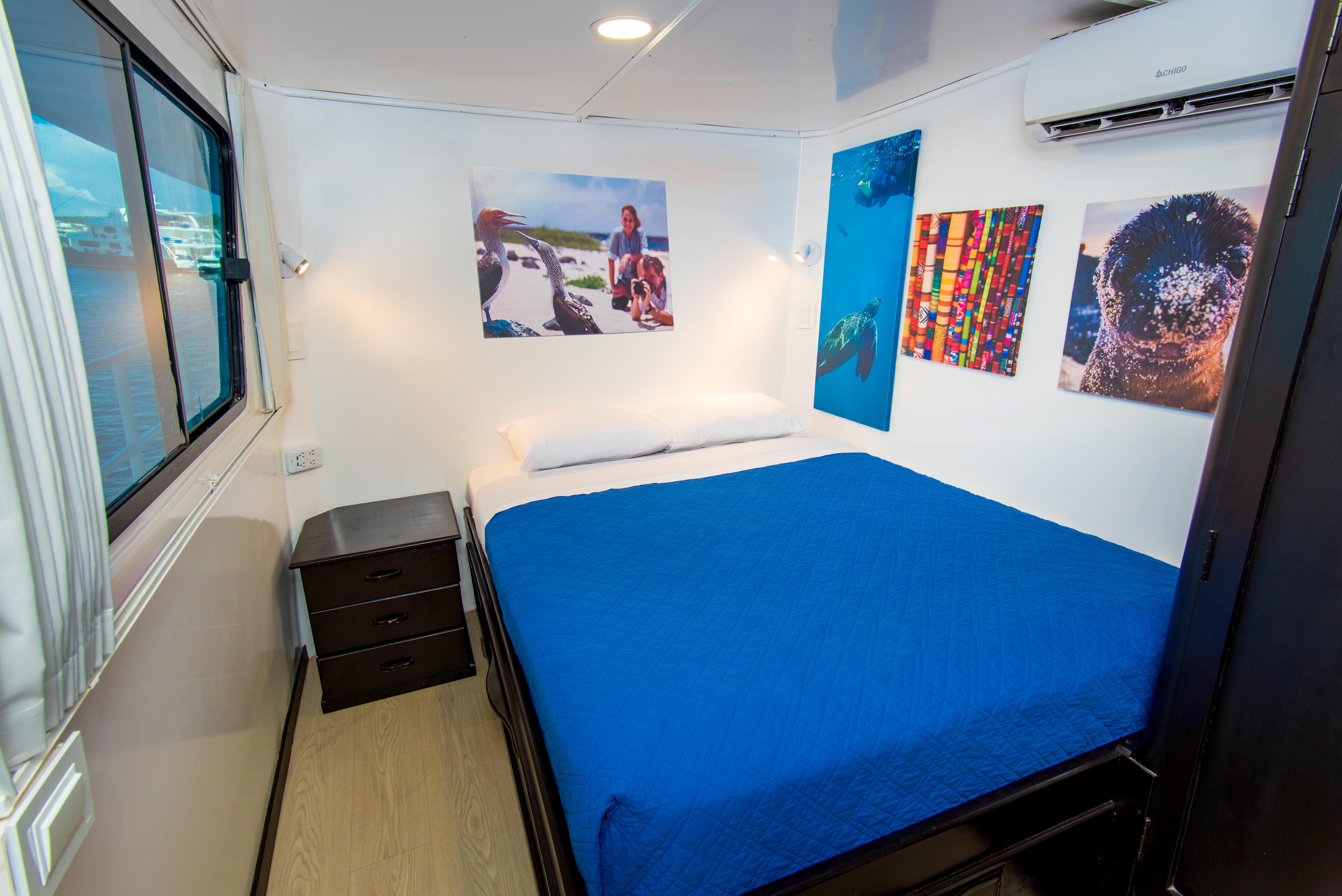 Upper Deck matrimonial Cabin