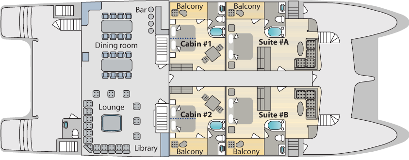 Cormorant Main Deck