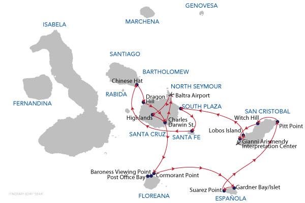 B5A4 - 8 Days Cruise