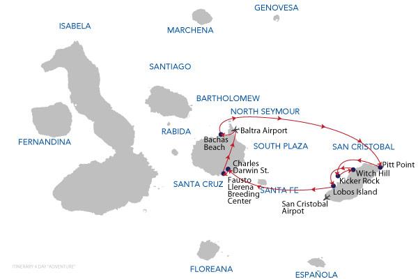 ADVENTURE 4D - 4 Days Cruise