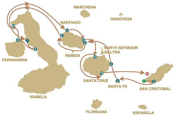 8B - 8 Days Cruise