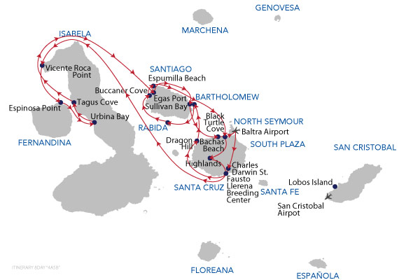 A+B - 8 Days Cruise