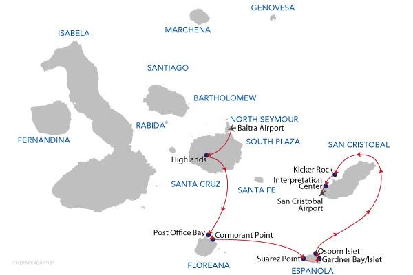 1B - 4 Days Cruise