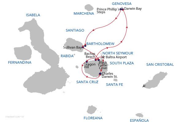 1A - 5 Days Cruise