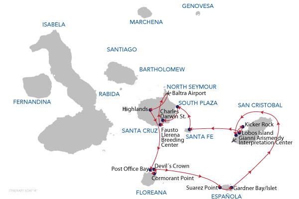 1B+2A - 6 Days Cruise