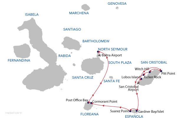 B1 - 5 Days Cruise