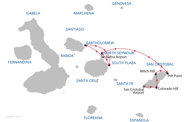 C - 4 Days Cruise