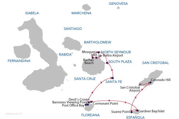 A - 6 Days Cruise