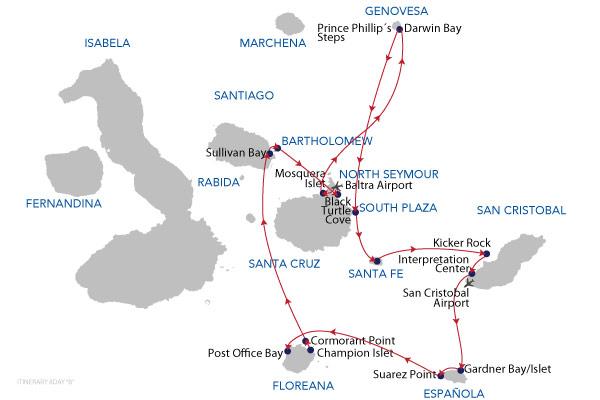 B - 8 Days Cruise