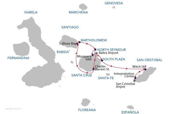 A - 5 Days Cruise