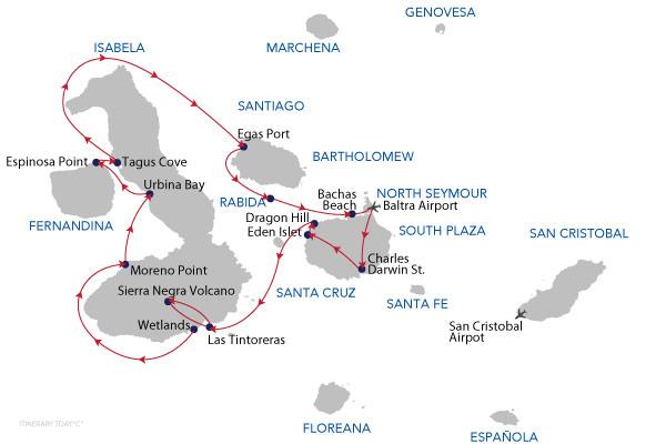 C - 7 Days Cruise