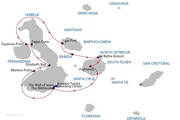 2B - 6 Days Cruise