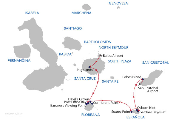 D - 4 Days Cruise