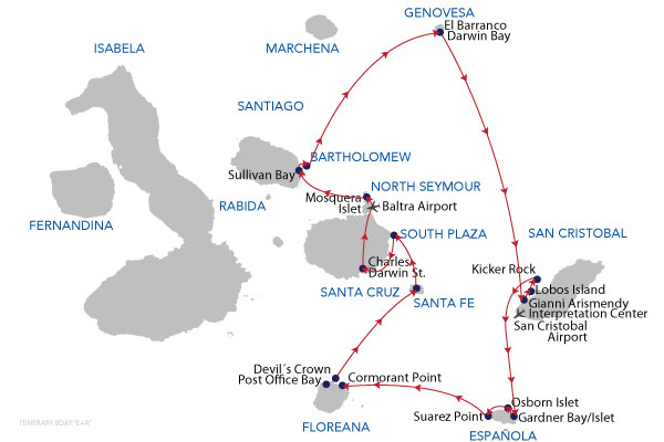 E+A - 8 Days Cruise