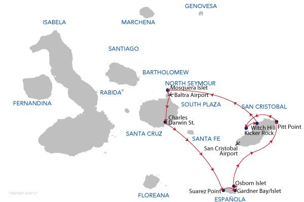 OPTION 02 - 4 Days Cruise