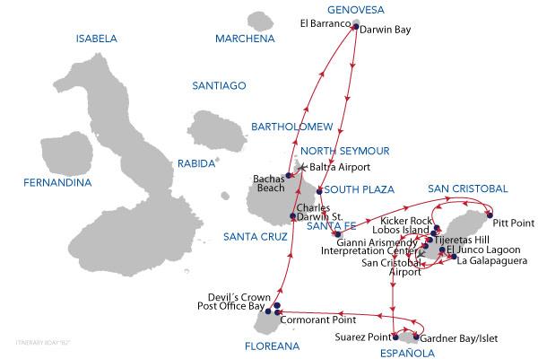 B2 - 8 Days Cruise