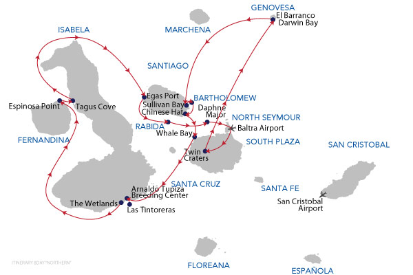 NORTHERN ISLANDS - 8 Days Cruise