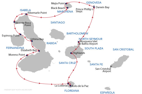 NORTH AND WESTERN ISLANDS - 8 Days Cruise