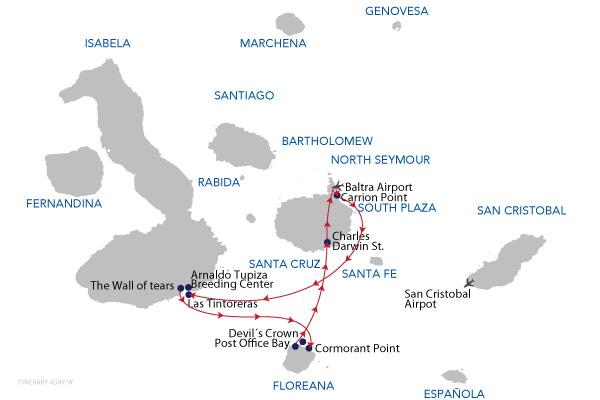 A - 4 Days Cruise