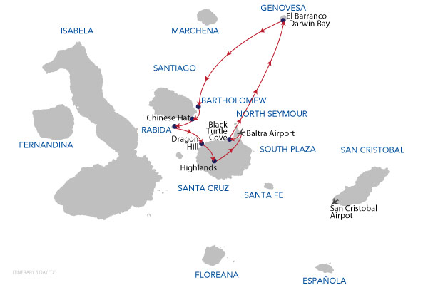 EAST 5D - 5 Days Cruise