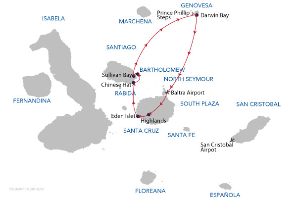 NORTHERN - 5 Days Cruise