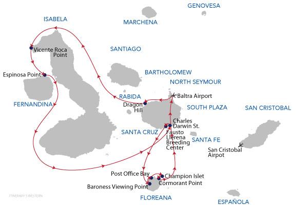 WESTERN - 5 Days Cruise