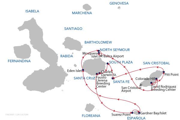 EASTERN - 7 Days Cruise
