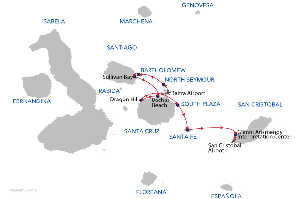 E - 5 Days Cruise