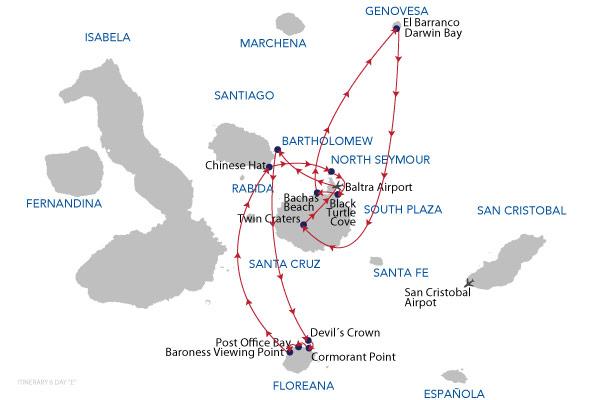 E - 6 Days Cruise