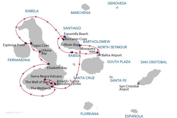 F - 6 Days Cruise