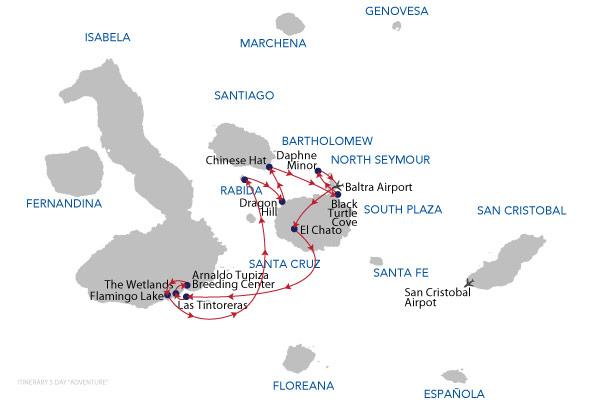 ADVENTURE 5D - 5 Days Cruise