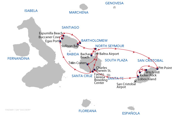 DISCOVERY 7D - 7 Days Cruise