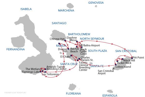 ADVENTURE - 8 Days Cruise