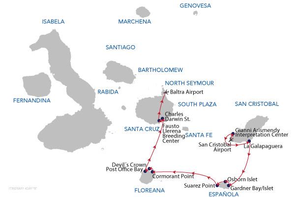 B - 4 Days Cruise