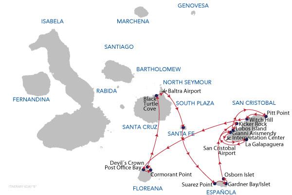 B - 6 Days Cruise