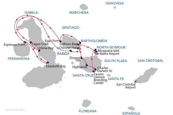 OPTION 01 - 8 Days Cruise