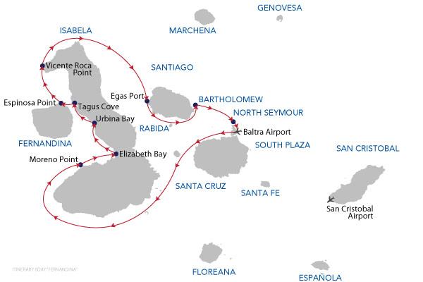 FERNANDINA - 6 Days Cruise
