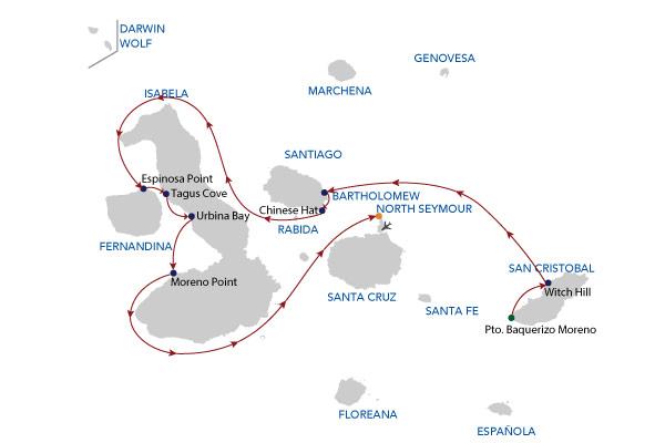 5 A - 5 Days Cruise