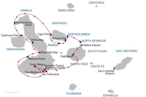 B1 - 8 Days Cruise