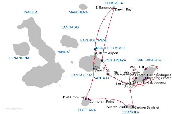C1 - 8 Days Cruise