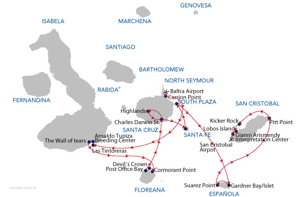 A - 8 Days Cruise