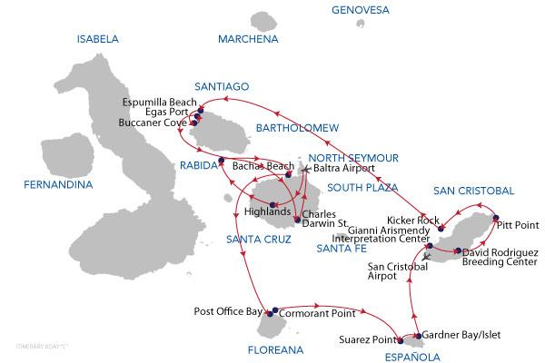 C - 8 Days Cruise