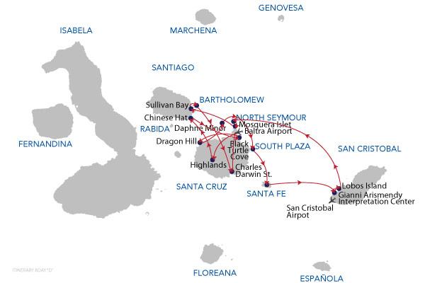 D - 8 Days Cruise