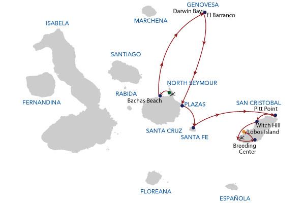 5A - 5 Days Cruise