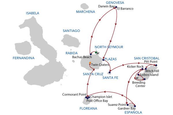 8A - 8 Days Cruise
