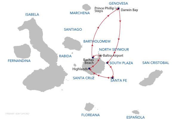 OPTION2 - 4 Days Cruise
