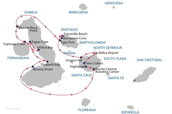A - 7 Days Cruise
