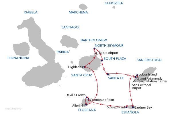 C - 6 Days Cruise