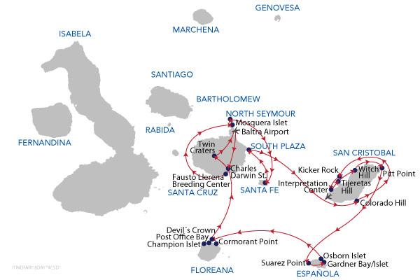 C+D - 8 Days Cruise